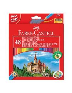Kredki ołówkowe 48 kolorów ZAMEK Faber-Castell-5178
