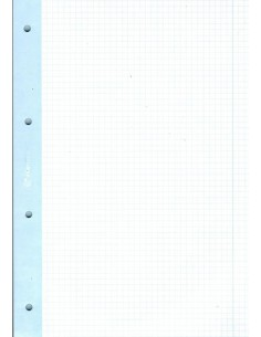 Wkład do segregatora 50A4 kolor margines INT-3584