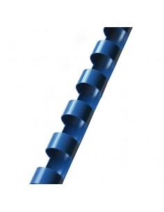 Grzbiet do bindowania 6 mm niebieski 100 szt. OPUS-5395