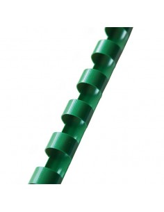 Grzbiet do bindowania 6 mm zielony 100 szt OPUS-5391