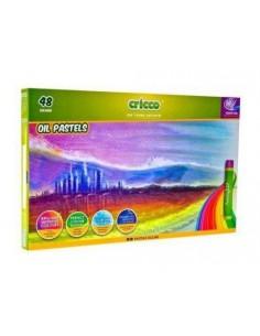 Pastele olejne CRICCO 48 kolorów-5229