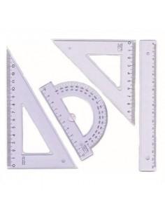 Zestaw kreślarski 2002 30cm PRATEL-1151