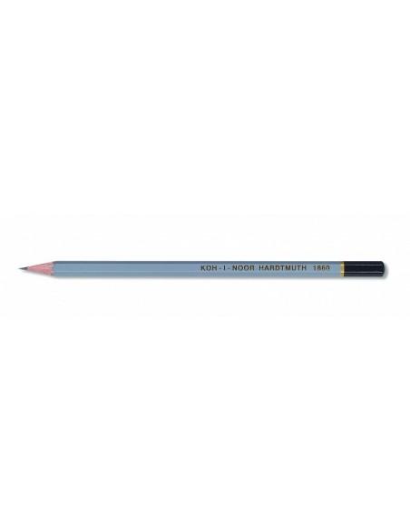 Ołówek grafitowy 6B do szicu szary GOLD STAR KOH-I-NOOR
