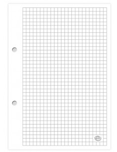 Wkład do segregatora A5 kratka 100k INTERDRUK-3582