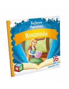 Książeczka Bajkowe opowieści - ROSZPUNKA