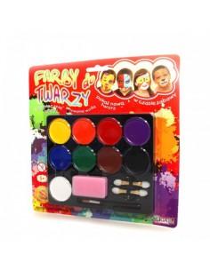 Farby do malowania twarzy 9 kolorów FA 009-5132