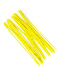 Druciki kreatywne 30cm żółte 25szt.