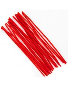 Druciki kreatywne 30cm czerwone 25szt.