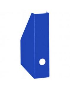 Pojemnik A4 na czasopisma kartonowy 7 cm niebieski-3735