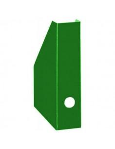 Pojemnik A4 na czasopisma kartonowy 7 cm zielony-3736
