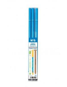 Wkład do długopisu usuwalnego 0,5mm niebieski a'3