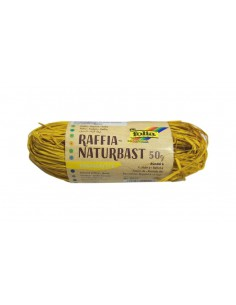 Sznurek Rafia- żółta 50 g