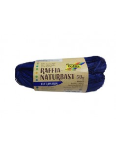 Sznurek Rafia- ultramaryna 50 g