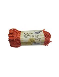 Sznurek Rafia- pomarańczowa 50 g