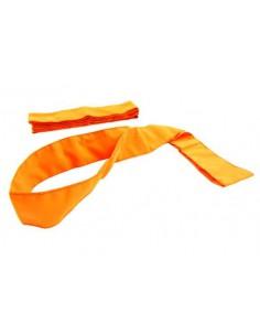 Szarfa gimnastyczna szkolna 1szt pomarańczowa