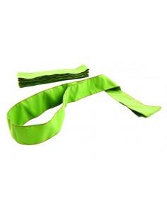 Szarfa gimnastyczna szkolna 1szt zielona