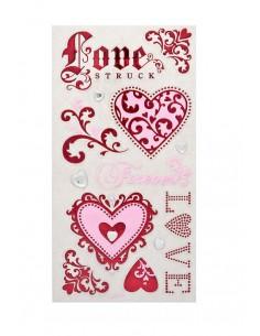 Naklejka ornamentowa ozdobna LOVE