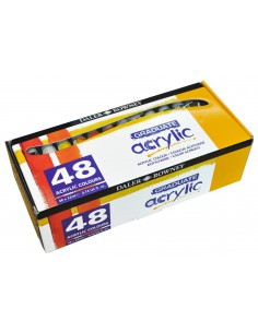 Farby akrylowe GRADUATE 48 kol. 22 ml Daler Rowney