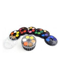 Farby akwarelowe 36 kolorów KOH okrągłe