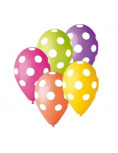 Balony Premium Grochy 12 cali, 5szt