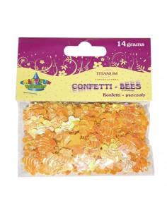 Konfetti w kształcie pszczółek 14g