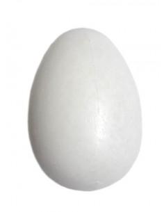 JAJKA Wielkanocne kurze plastik 6cm białe 6szt