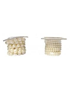 Tasiemka perłowa ozdobna 150 cm