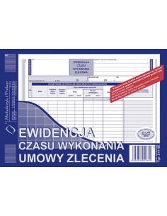 Ewidencja czasu wyk.umowy zlecenia 511-3E-4325
