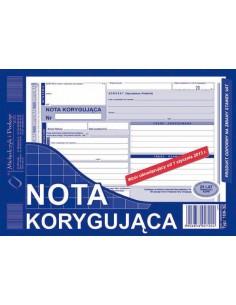 Nota korygująca VAT A5 108-3-126