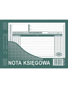 Nota księgowa A5 NK M 416-3-127