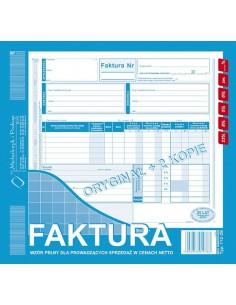 Faktura 2/3 A4 (o 2K) płat/odb. 112-2E-4314