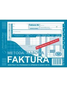 Faktura MK metoda kasowa netto A5 151-3E