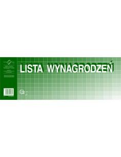 Lista wynagrodzeń 1/2 A3 P3-102