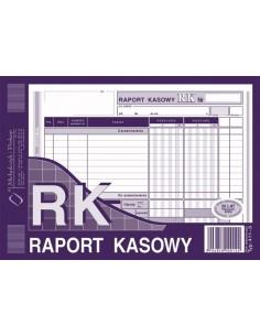 RK Raport Kasowy A5 oryginał kopia 411-3-82
