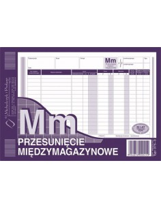MM Przesunięcie międzymagazynowe A5 375-3-71