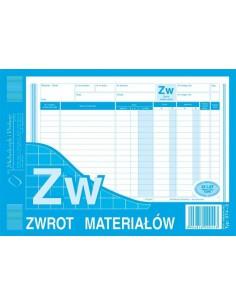 ZW Zwrot materiałów A5 M374-3-67