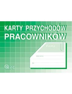 Karta przychodów pracowników K10 A5-65