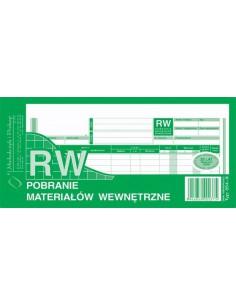 RW POBRANIE MATERIAŁÓW WEWNĘTRZNE 1/3 A3 354-8-40