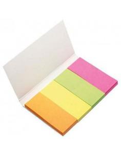 Zakładki indeksujące 20x50 mm 40k 4 kolory Bantex-3947