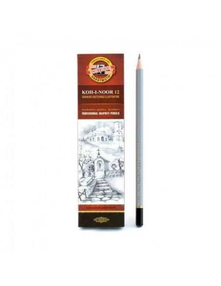 Ołówek GOLD STAR 6B    KOH-I-NOOR  -5011