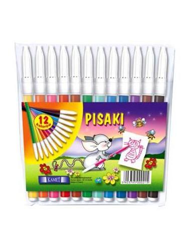 Pisaki KAMET 12 kolorów-5315