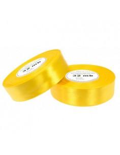 12mm WS8012 Wstążka satynowa żółta słoneczna 32mb-5501