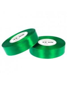 12mm WS8086 Wstążka satynowa ciemna zielona 32mb-5633