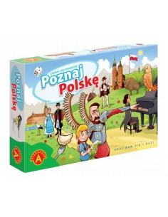 Gra edukacyjna Poznaj Polskę Alexander