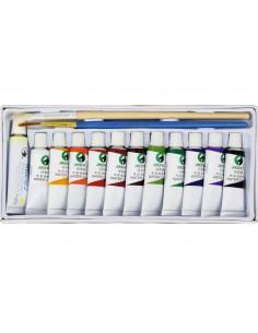 Farby akwarelowe E1325 12 kolorów MARIES-2819