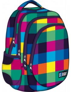 Plecak szkolny młodzieżowy profilowany STRIGHT BP-06 MAXI