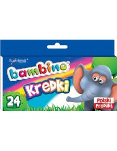 Kredki BAMBINO 24 kolory-3162