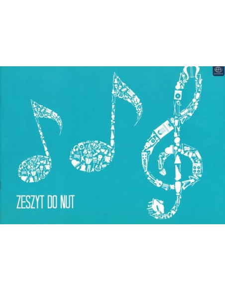 Zeszyt do nut A4 16k INT-3436