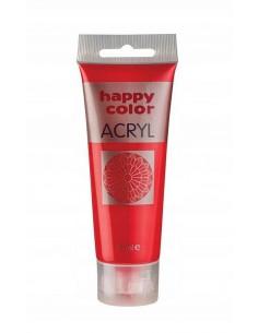 Farba akrylowa 75ml czerwona Happy Color