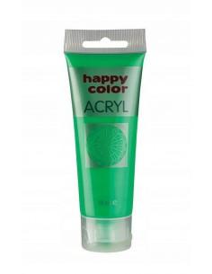 Farba akrylowa 75ml jasno zielona Happy Color